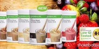 Herbalife Formula 1 (F1) Strawberry