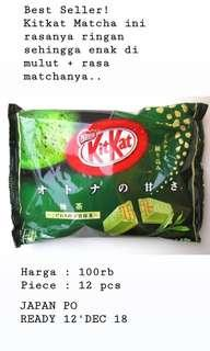 OPEN PO JAPAN - Kitkat Japan