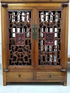 [清朝]放古董/古玩夾萬▪儲物櫃▪60年代南洋運抵