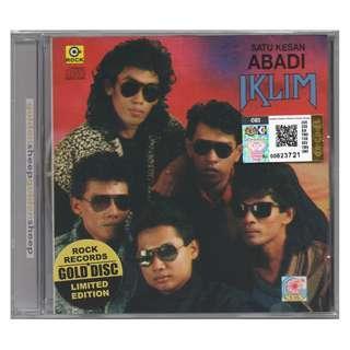 IKLIM - Satu Kesan Abadi LIMITED EDITION GOLD DISC CD