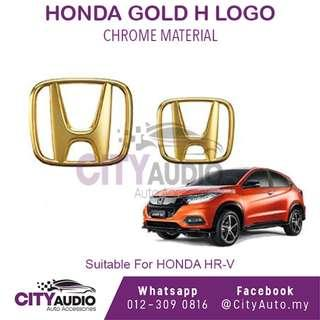 HONDA HR-V Type R **Gold H Logo ( Front & Rear )