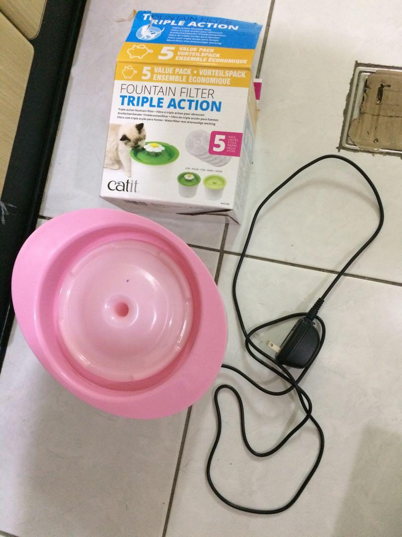 小花飲水器(附濾芯)
