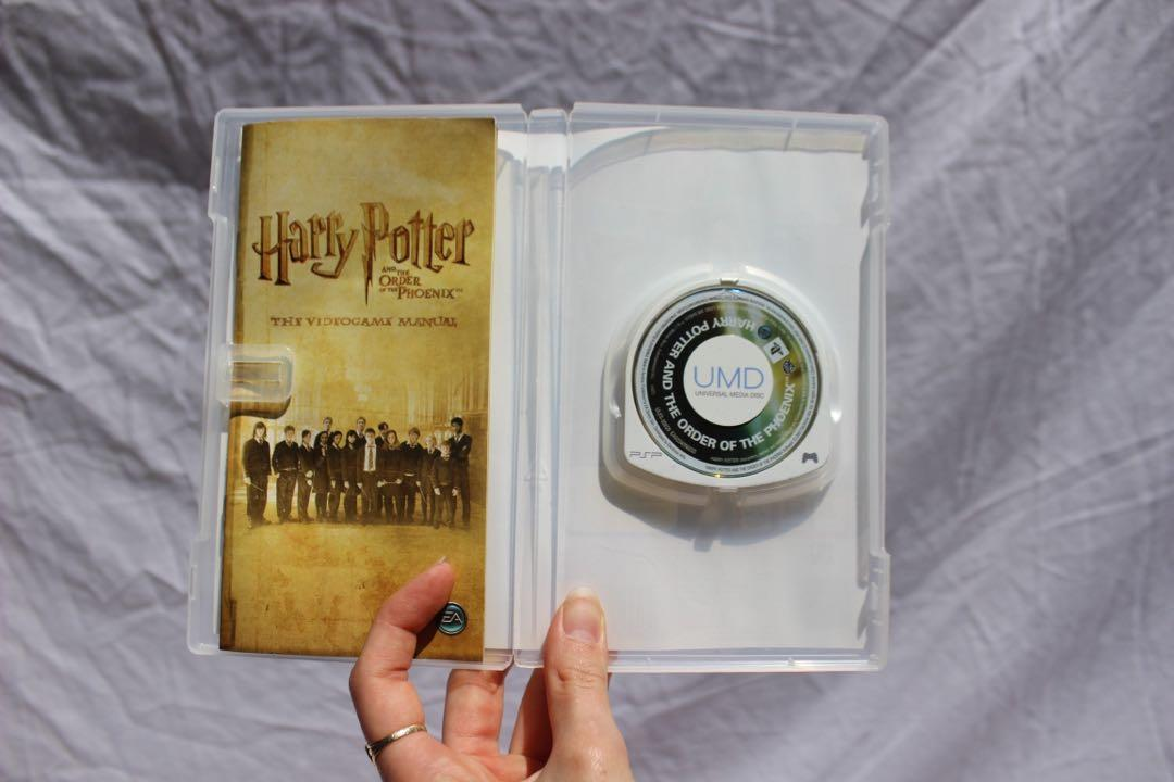 ✨ PSP Harry Potter and the Order of the Phoenix game ✨