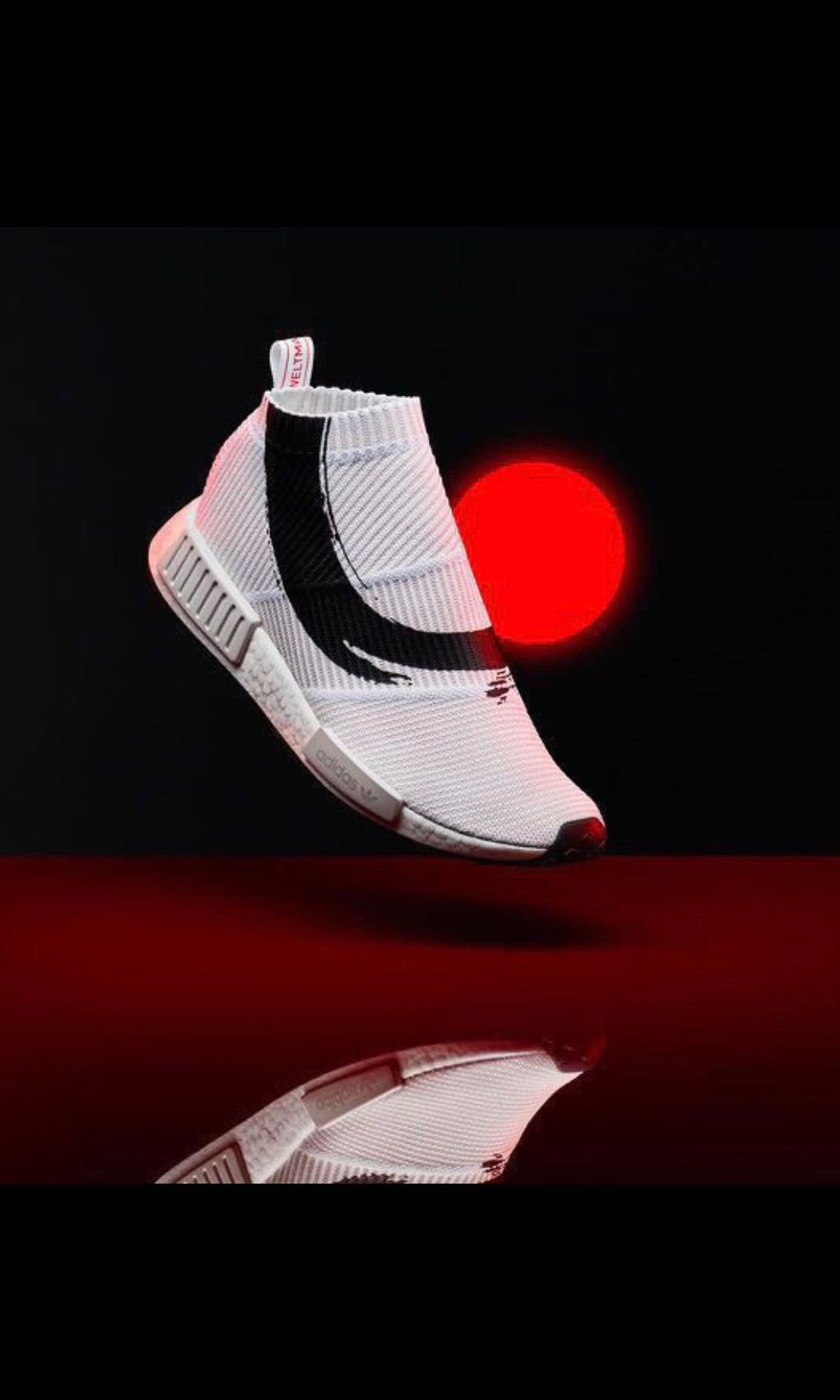 24a893fe06fe9 Adidas ENERGY NMD CS1 PK in UK 9 (KOI FISH)