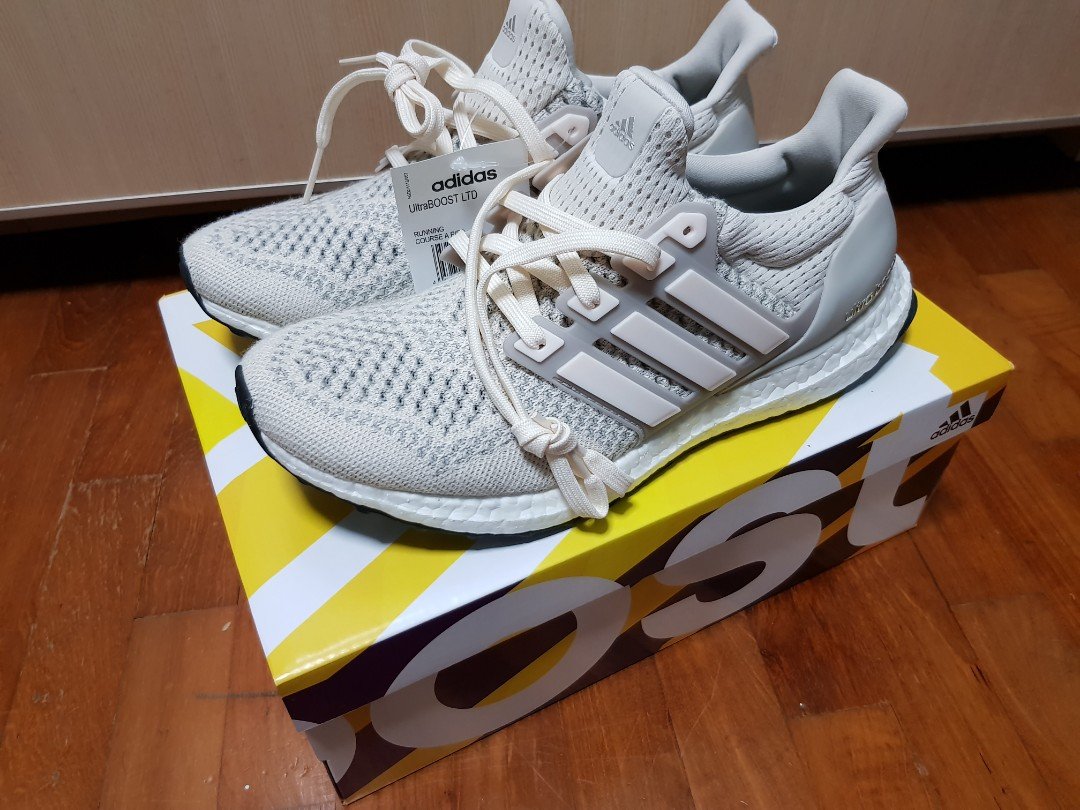 38f1cafc113 Adidas Ultra Boost 1.0 LTD  Cream Chalk  US8