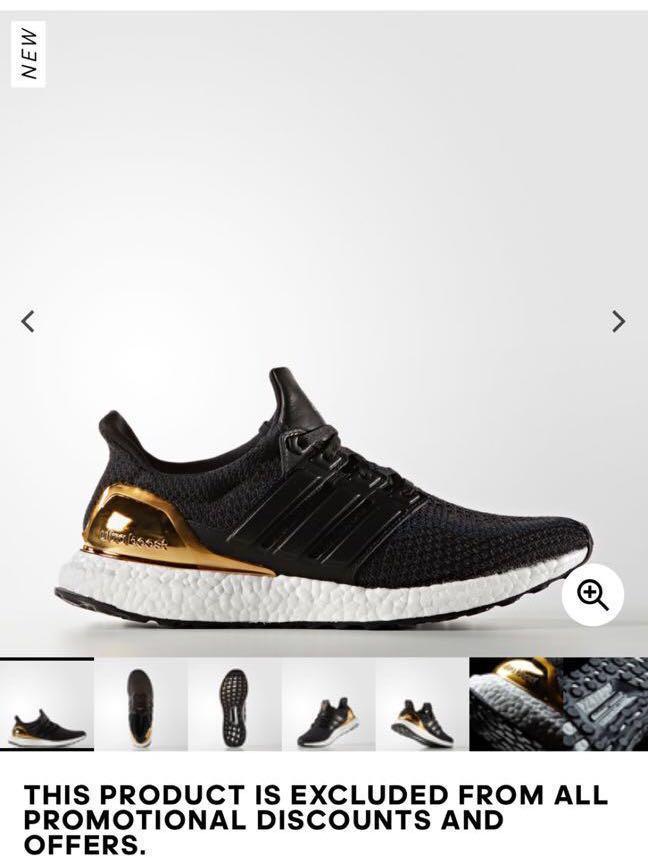 740e18e3 Adidas ultraboost 2.0 gold medal, Men's Fashion, Footwear, Sneakers ...