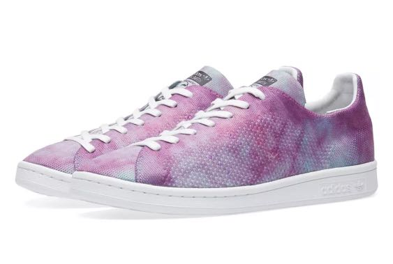 "cheaper 0aa81 d2bd2 Adidas X Pharrell Williams Hu Stan Smith ""Holi Powder Dye"""