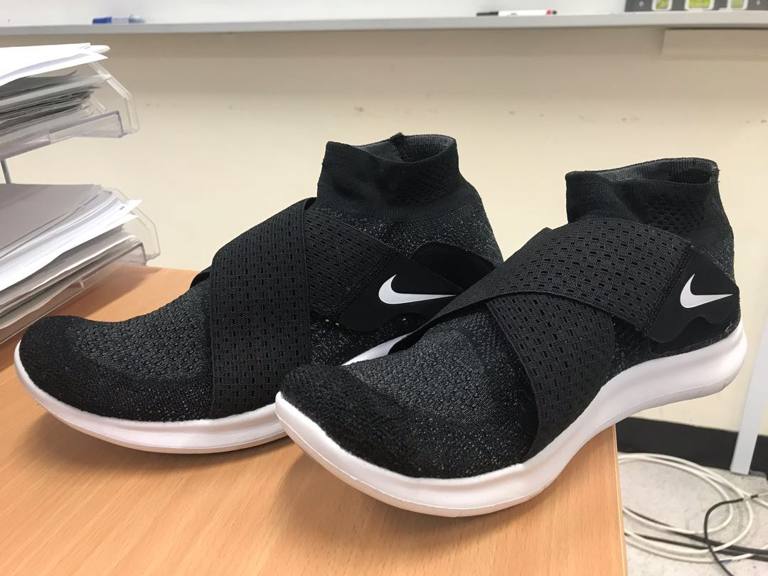 9526d68bf1f68 Almost brand new authentic original Nike Free RN Motion Flyknit Shoes