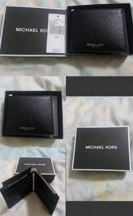 ff2805674be7 🇺🇲AUTHENTIC MK MEN'S WALLET, Men's Fashion, Bags & Wallets ...