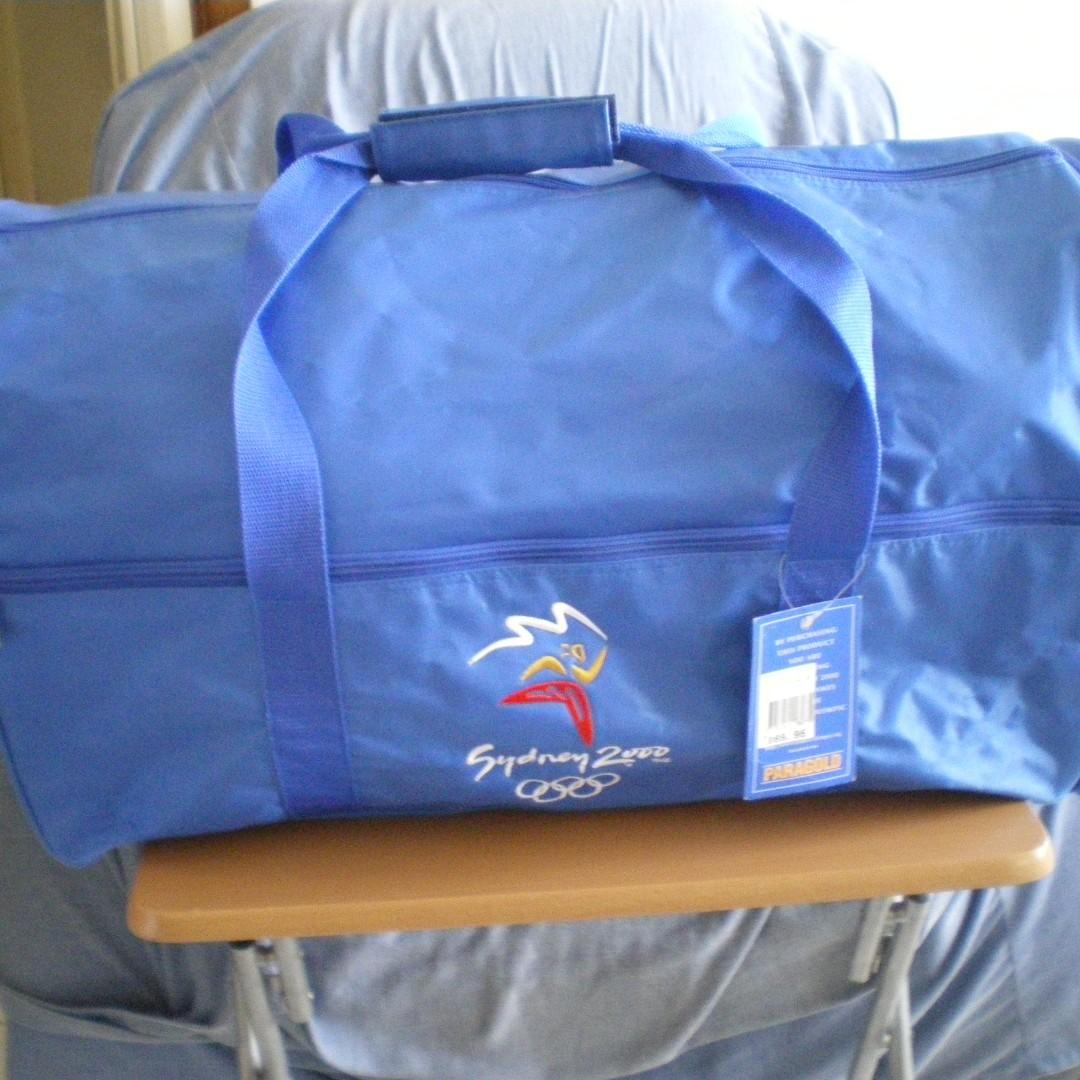 Authentic Sydney 2000 Olympic Game Travel/Sport Bag