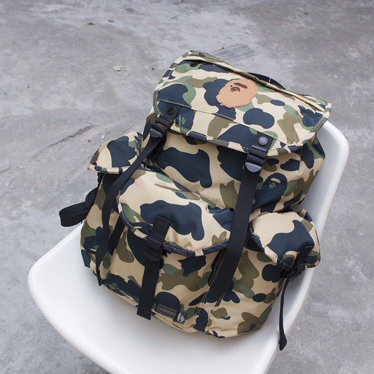 feb2617e327e 🔥Bape Backpack 🔥