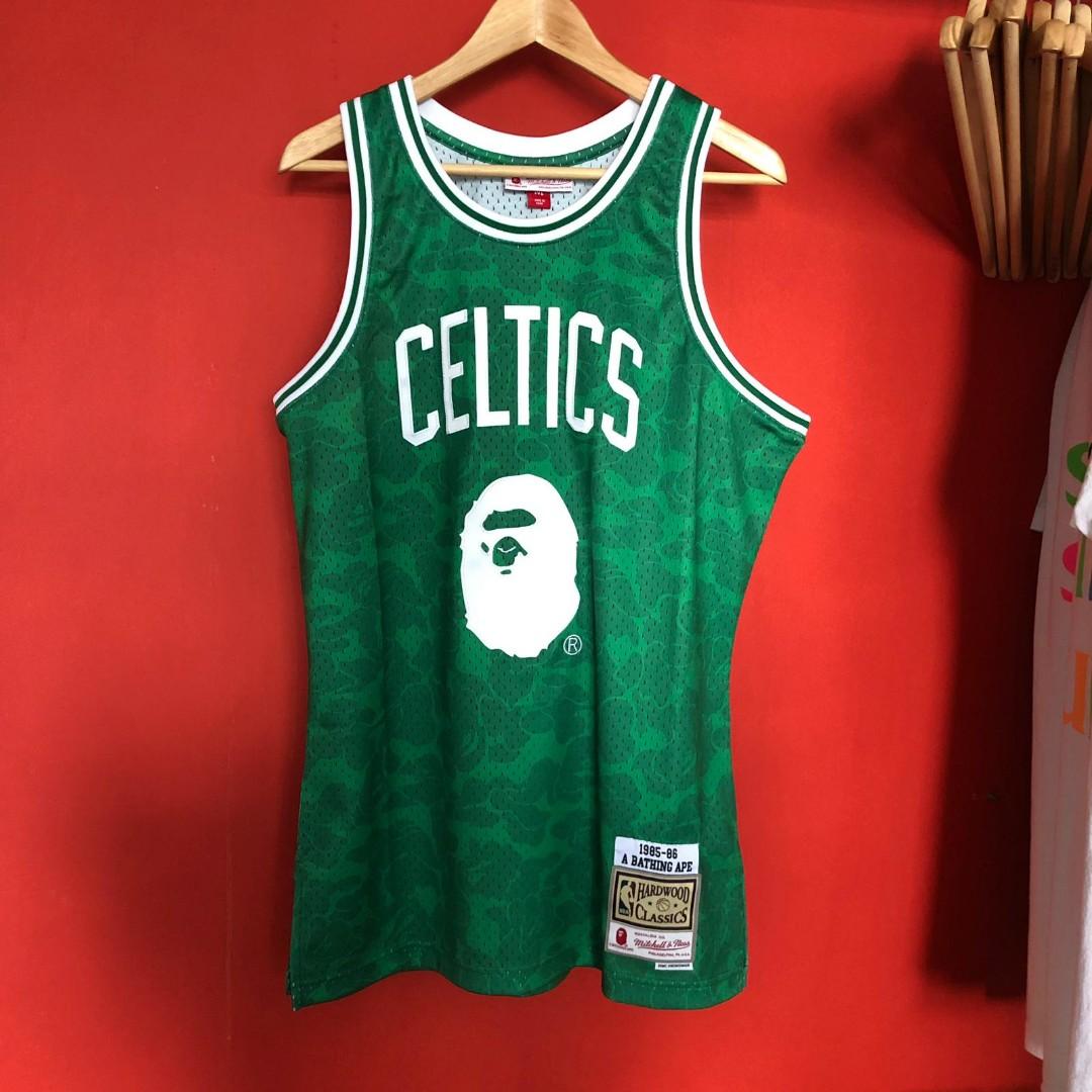 Bape x NBA Celtics Jersey 84764f754