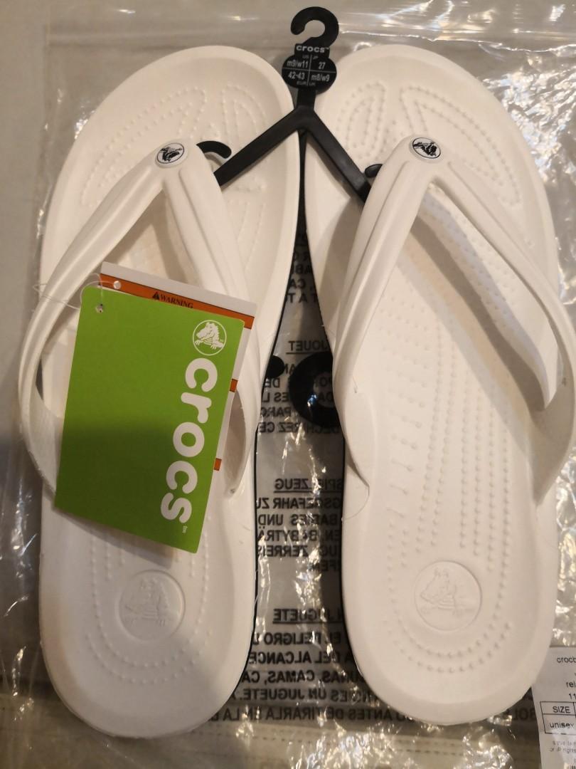 e69a5df20 BNWT Authentic Crocs Flip Flops