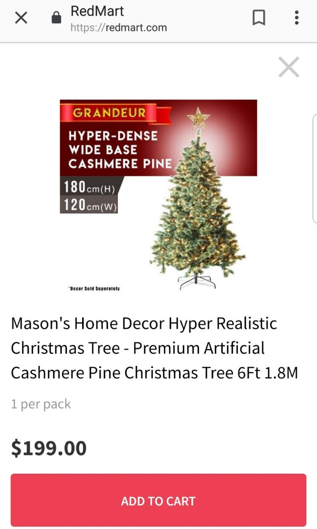 Christmas 6ft Trees Gardening Flowers Bouquets On Carousell