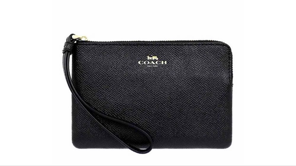 d42ae5546fa7 Coach Leather Wristlet, Women's Fashion, Bags & Wallets, Wallets on ...