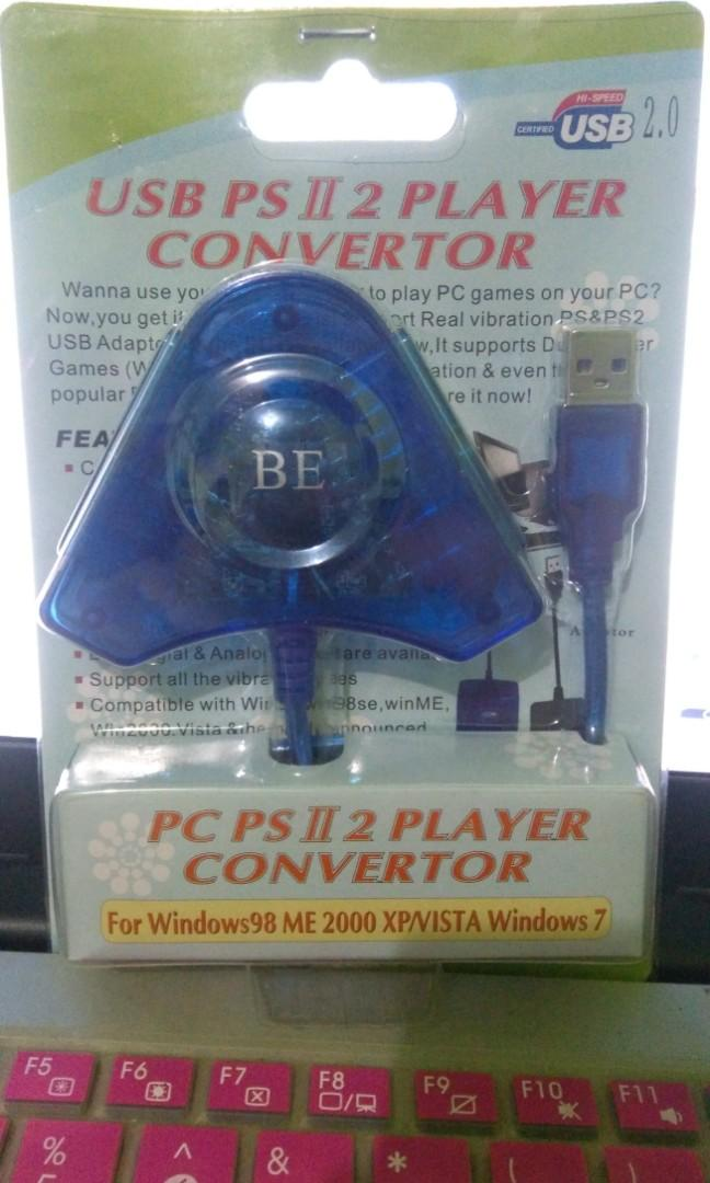 Converter Stick stik PS2 to PS3 or PS2 to PC