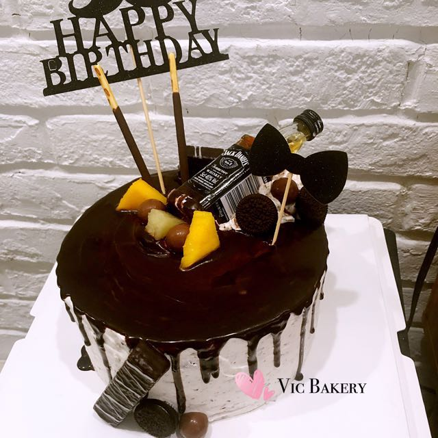 Customized Cake For Husband Father Food Drinks Baked Goods On Carousell