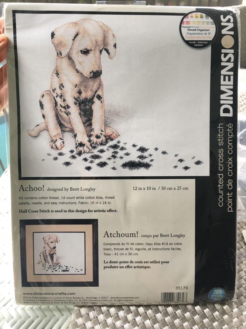 Dimensions cross stitch kit Achoo!