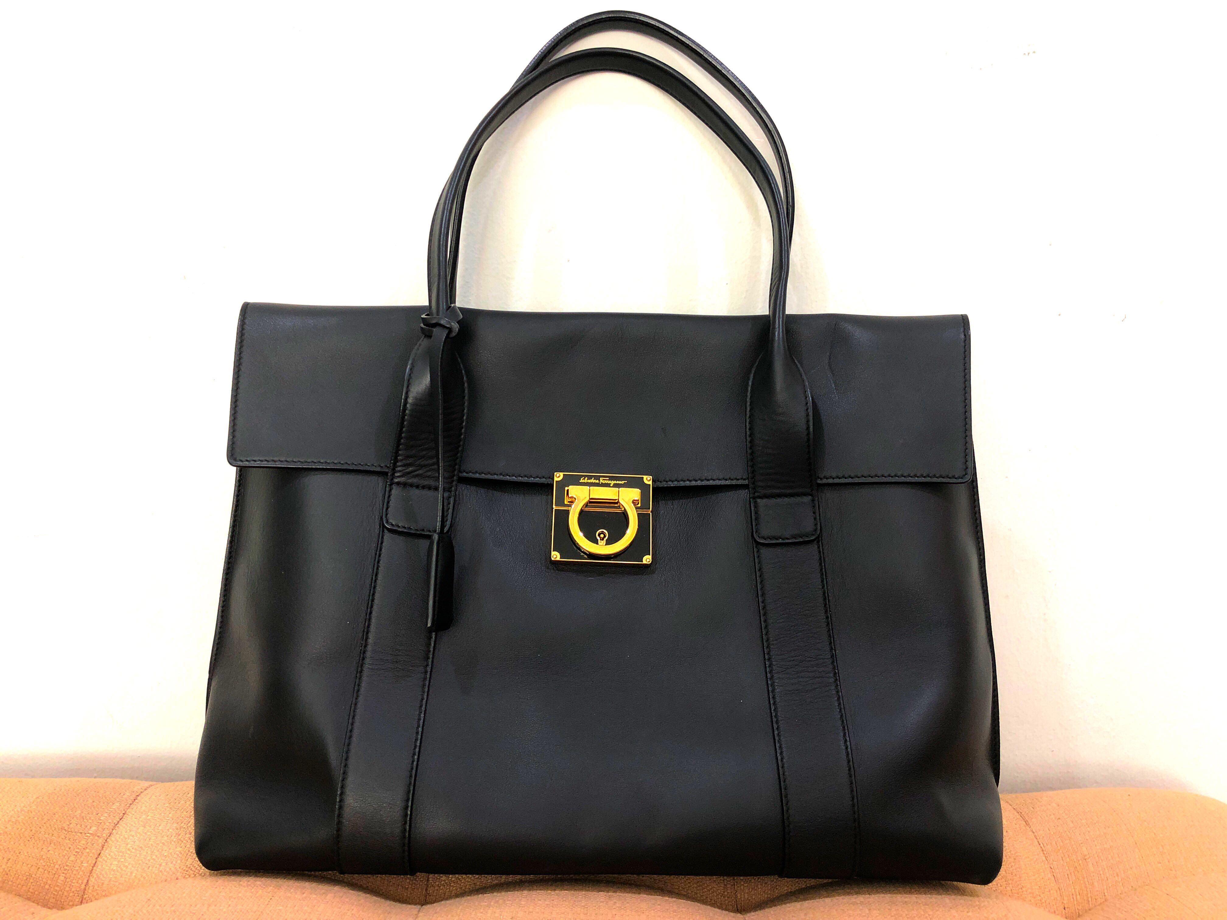 49995f07fe Full Leather Salvatore Ferragamo handbag