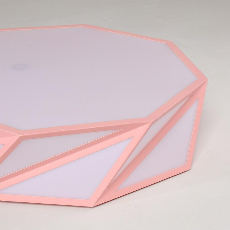 Geometric ceiling lights macaron
