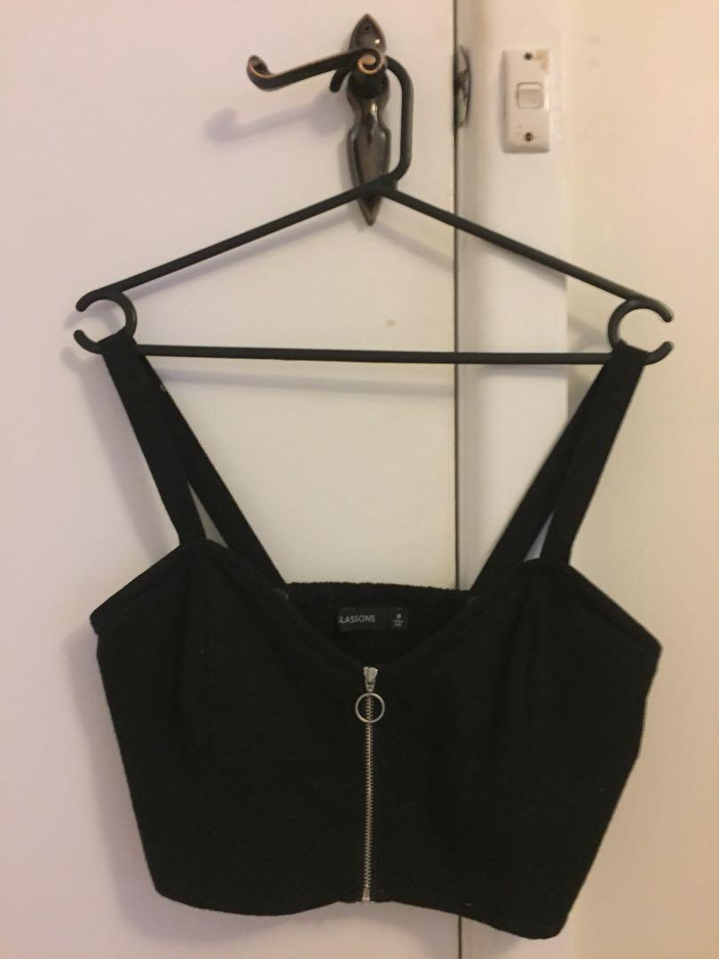 Glassons crop Top top