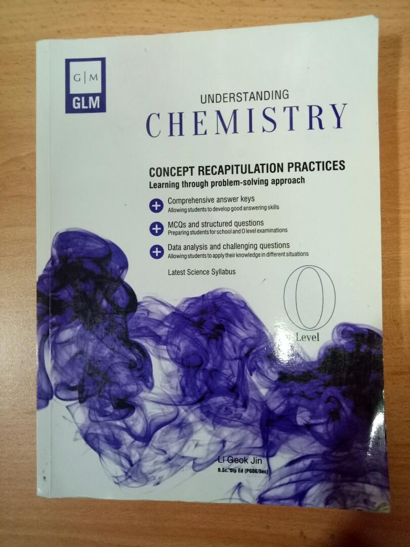 GLM chemistry assessment book o level, Books & Stationery
