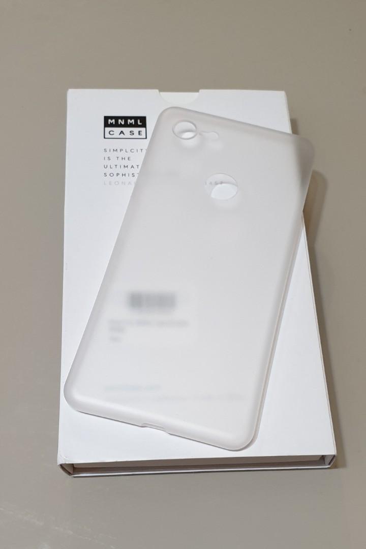 finest selection c83f1 3901c Google Pixel 3 XL MNML Phone Case