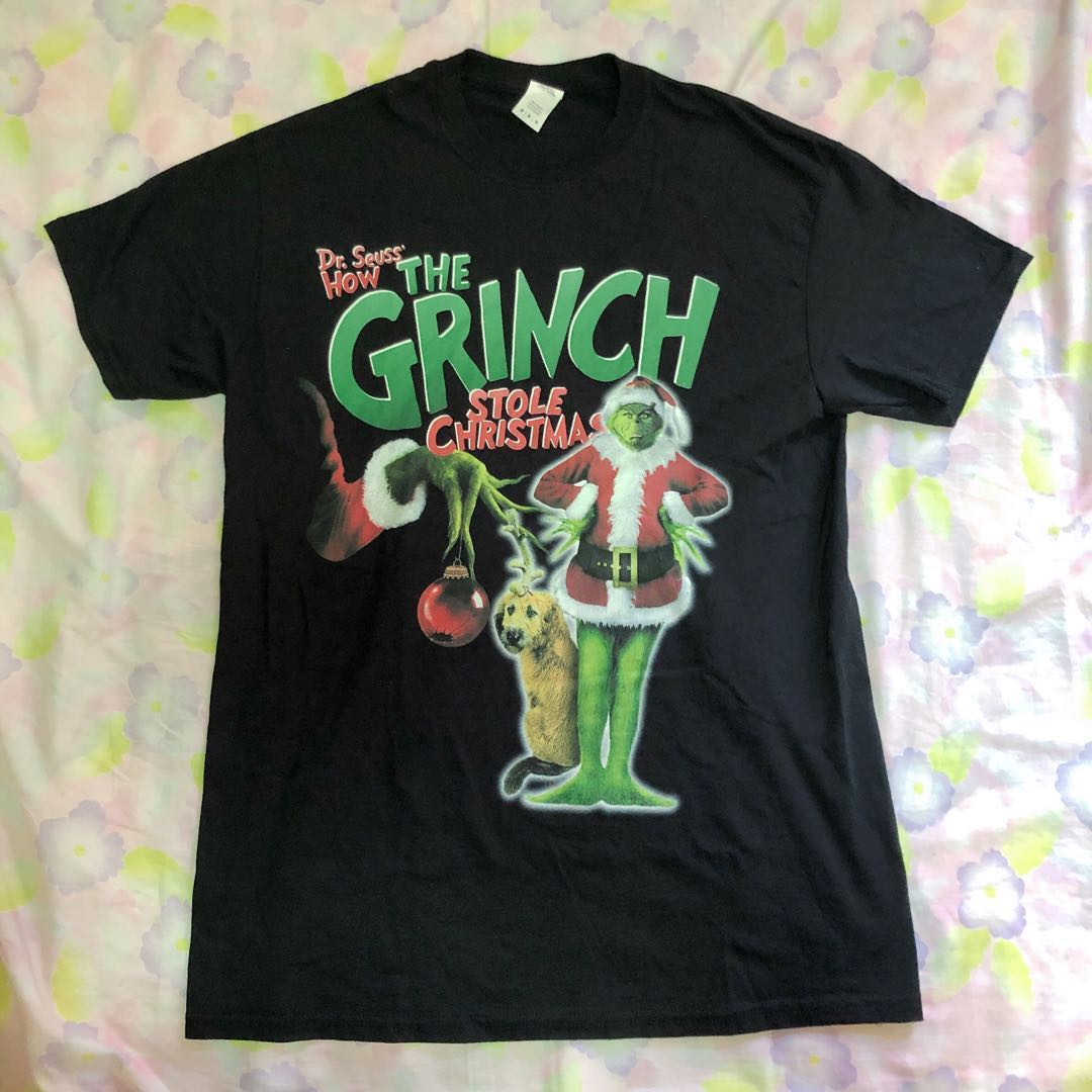 Homage Tees Vintage Grinch Tee Men S Fashion Clothes Tops On