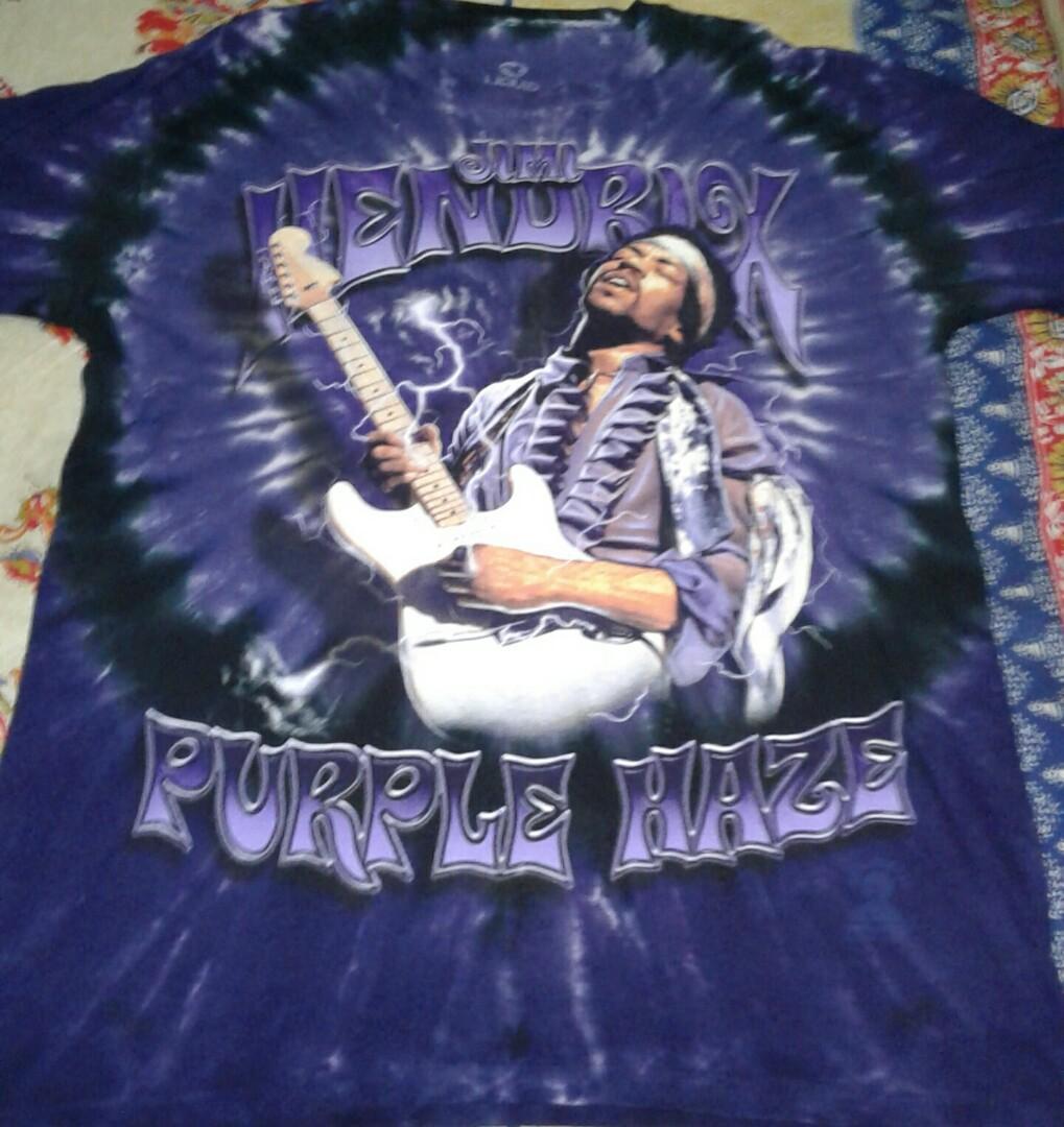 Jimi hendrix-purple haze tie dye