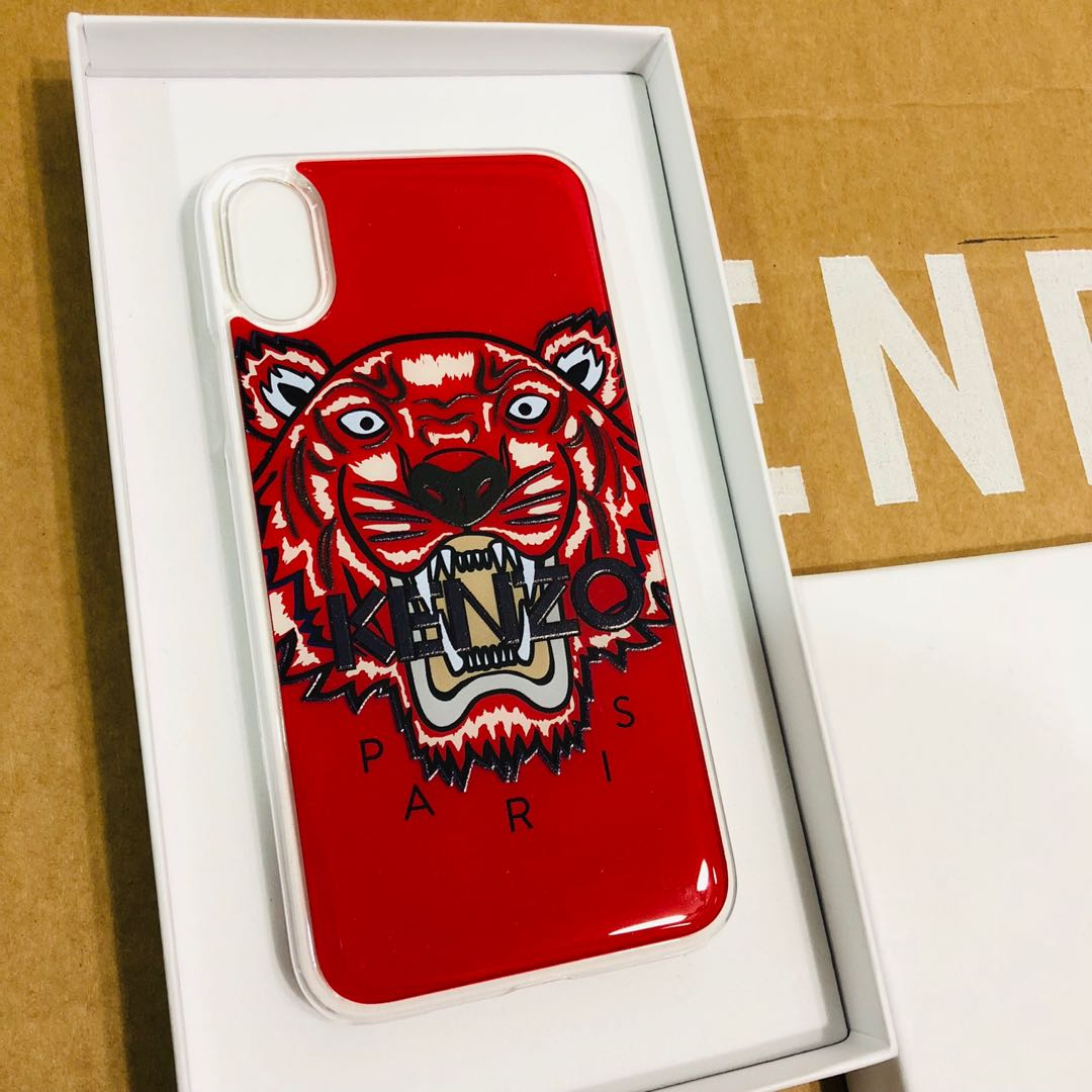 finest selection 4bc81 f17b6 Kenzo Iphone X Case