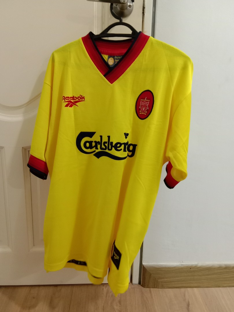 low priced 9381b 202da Liverpool Away Kit 1997 - 1998