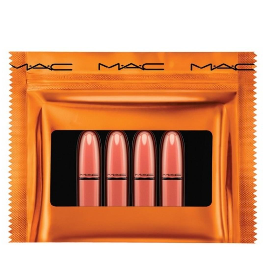 M.A.C COSMETICS SHINY PRETTY THINGS PARTY FAVOURS MINI LIPSTICKS NUDE BRAND NEW & AUTHENTIC [PRICE IS FIRM, NO SWAPS} FREE POST AUSTRALIA WIDE