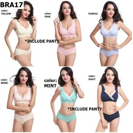 c368f9a737 maternity bra with panty set Nursing Bra set