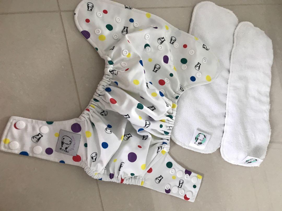 Moo Moo Kow Cloth Diaper