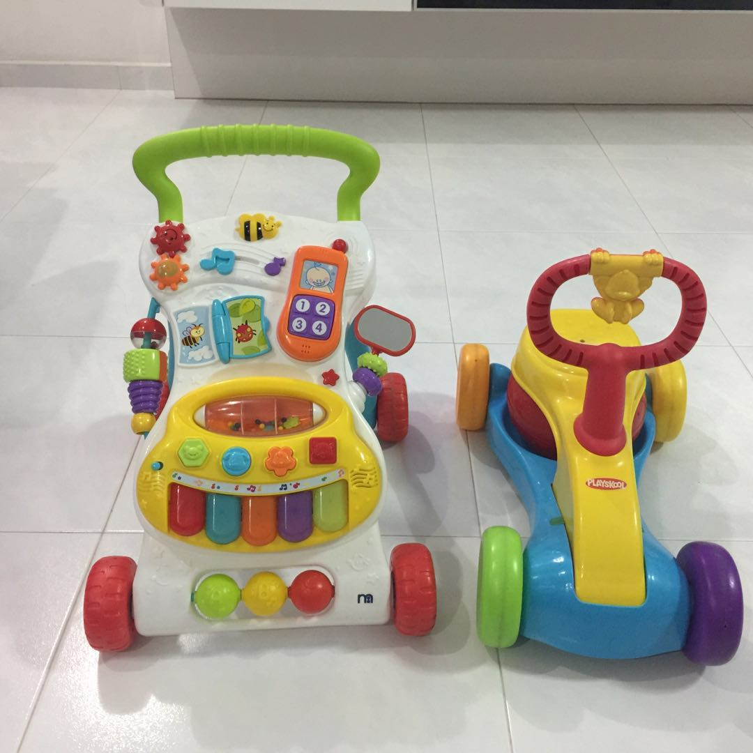 6bb70bdad Mother Care Walker + Playskool Bounce Ride