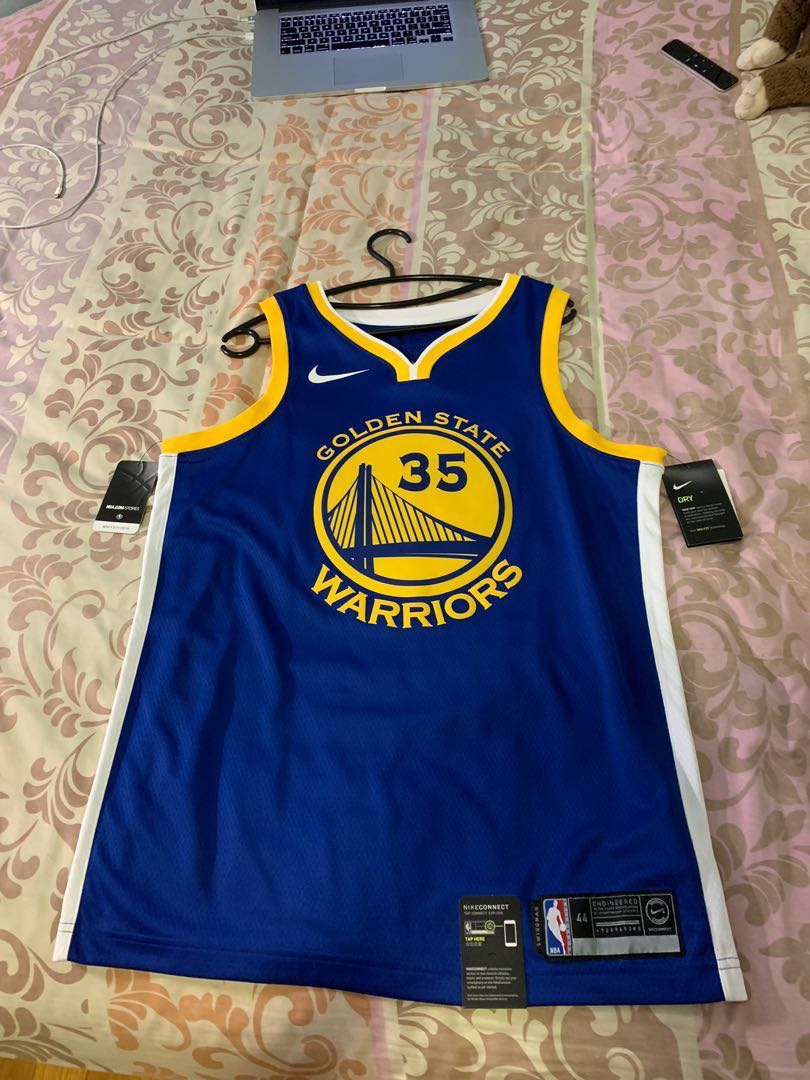 uk availability 11a5d 4c4a6 NBA Nike Kevin Durant golden state warriors jersey authentic m