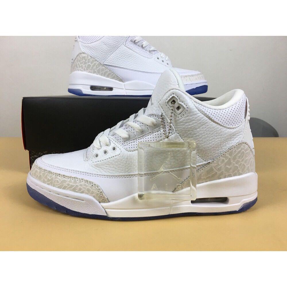 """quality design 6a2d5 d5e61 Nike Air Jordan 3 """"Pure White"""""""