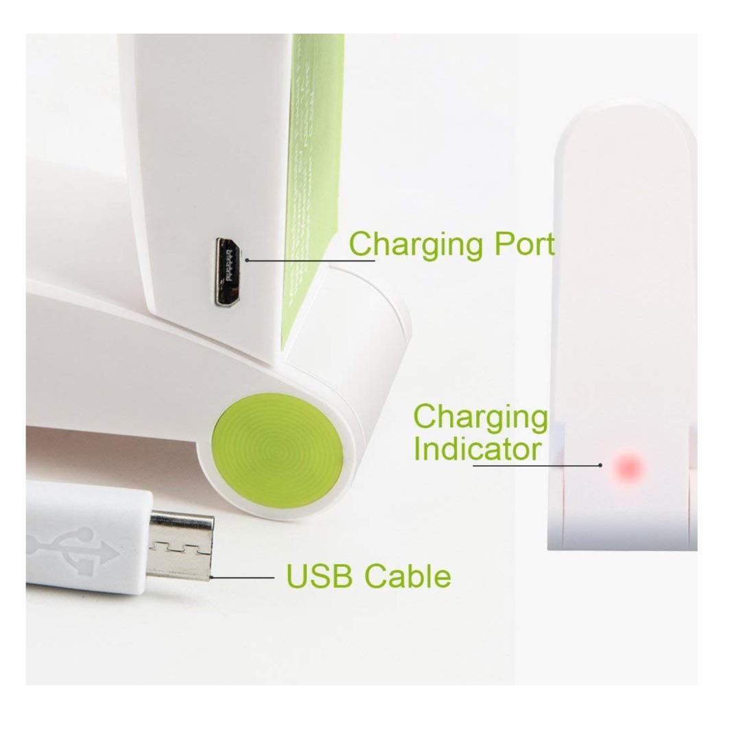 Mini Portable Pocket Fan USB Rechargeable for Travel Personal Handheld Fan