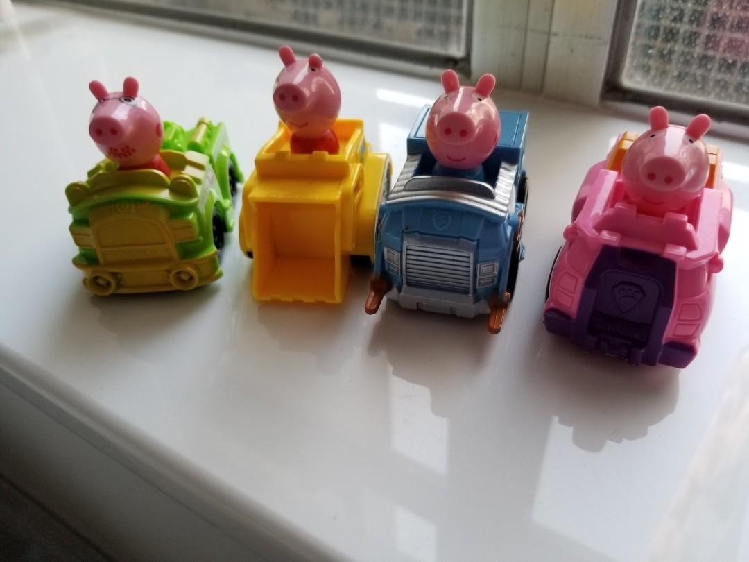 Peppa pig cars車