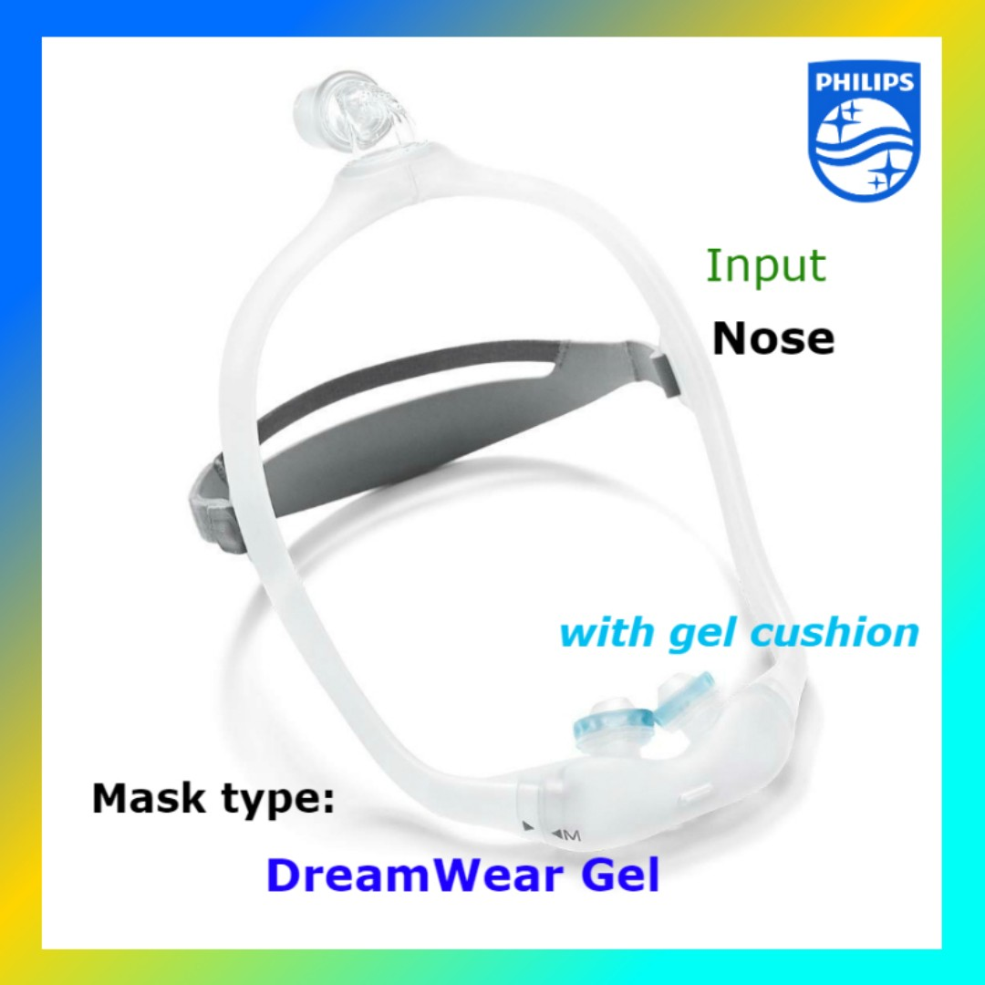 Philips Respironics CPAP Nasal Pillow DreamWear Gel mask