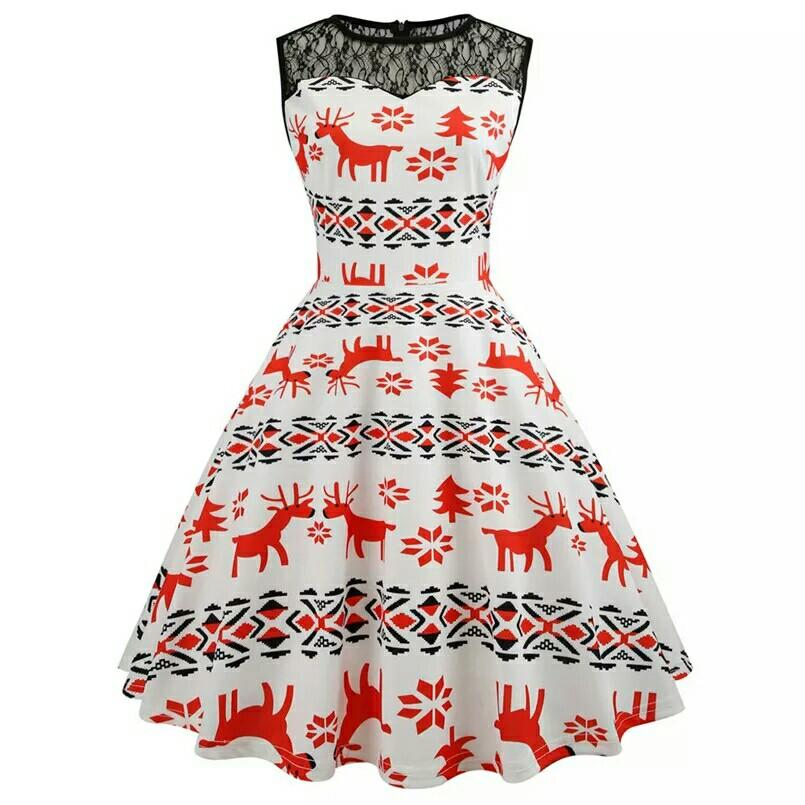77c08684ab54 Pink label vintage Christmas dress 🌲, Women's Fashion, Clothes ...