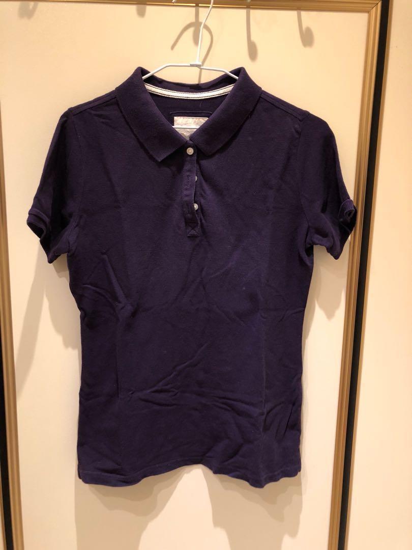 藍紫色Polo