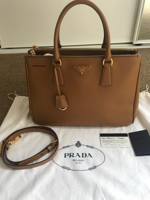 3704a7a8ee57d6 Prada Saffiano Bag, Women's Fashion, Bags & Wallets, Handbags on ...