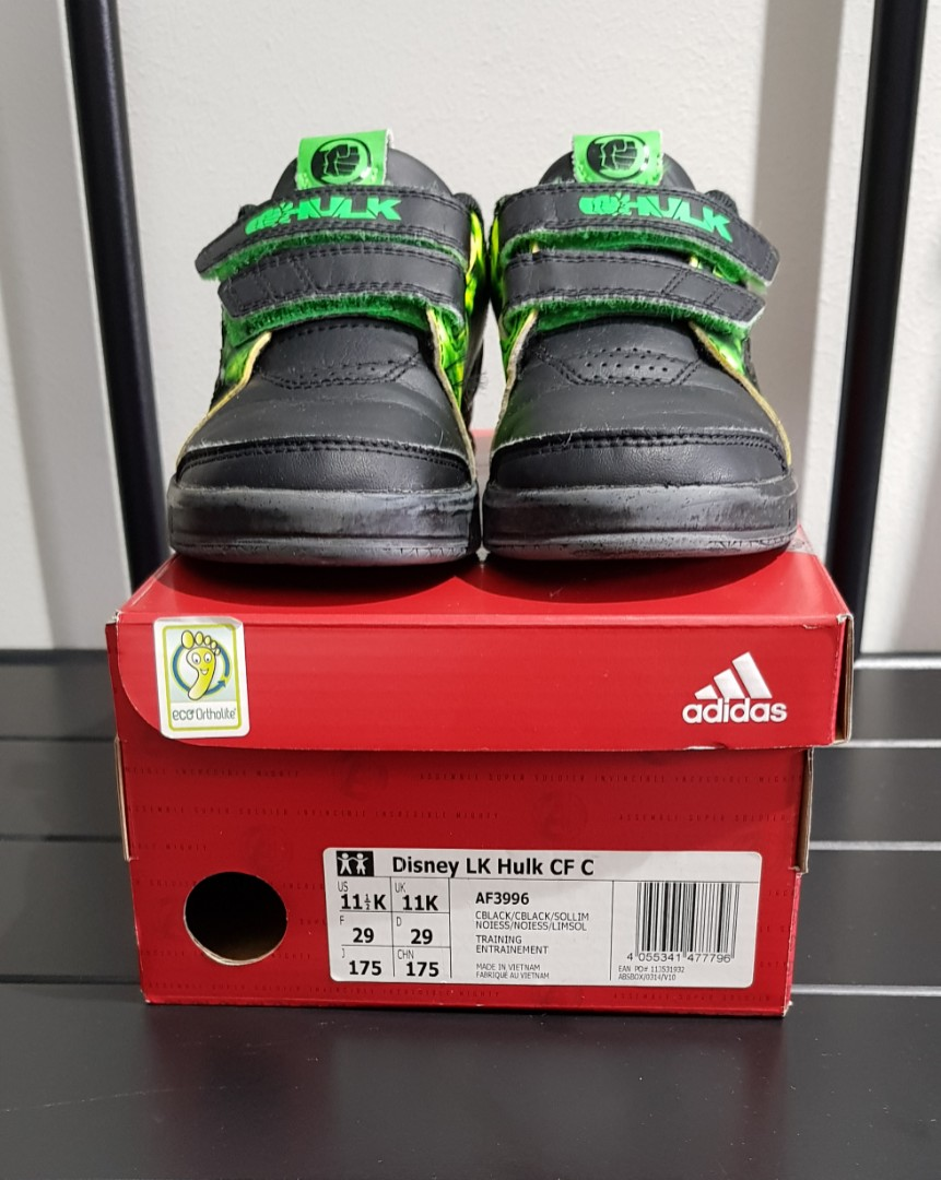 Pre-loved Adidas Eco Ortholite Shoes for Boys 07072978f