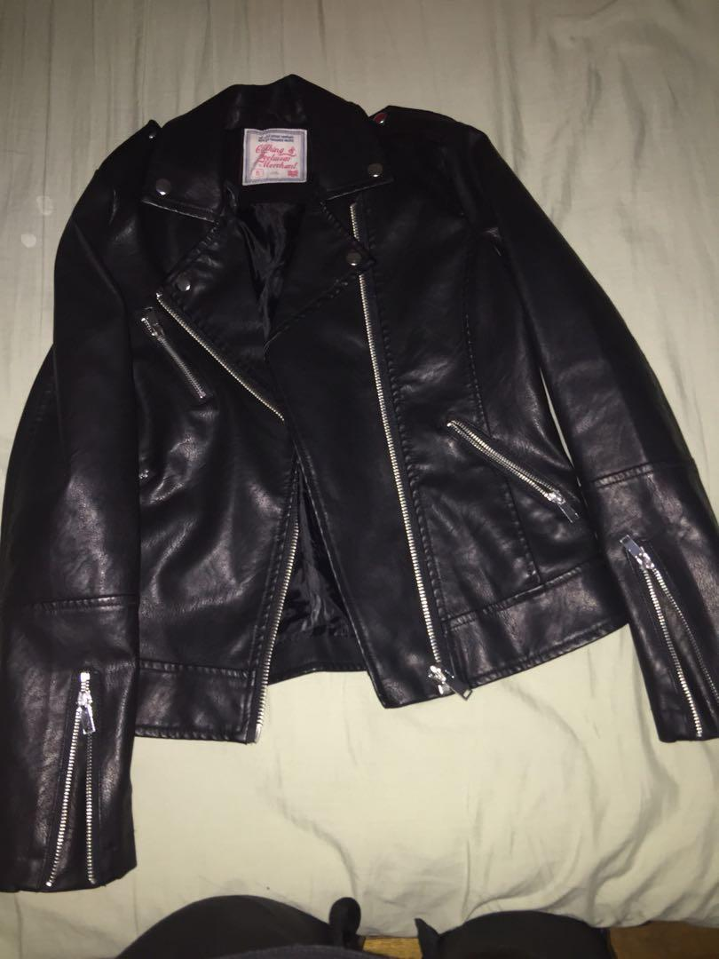 Rivers leather jacket