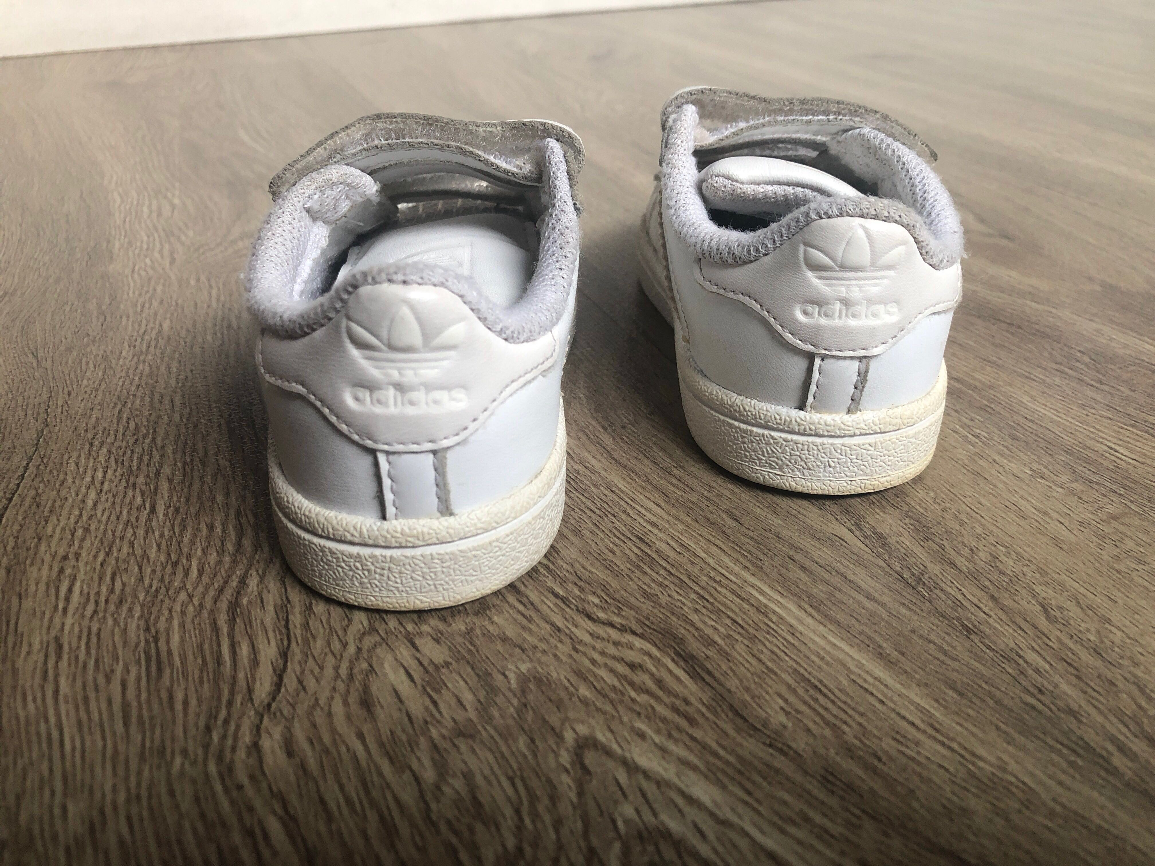 Sepatu anak Adidas superstar Baby No 21 putih ORIGINAL  c5fbb6d313
