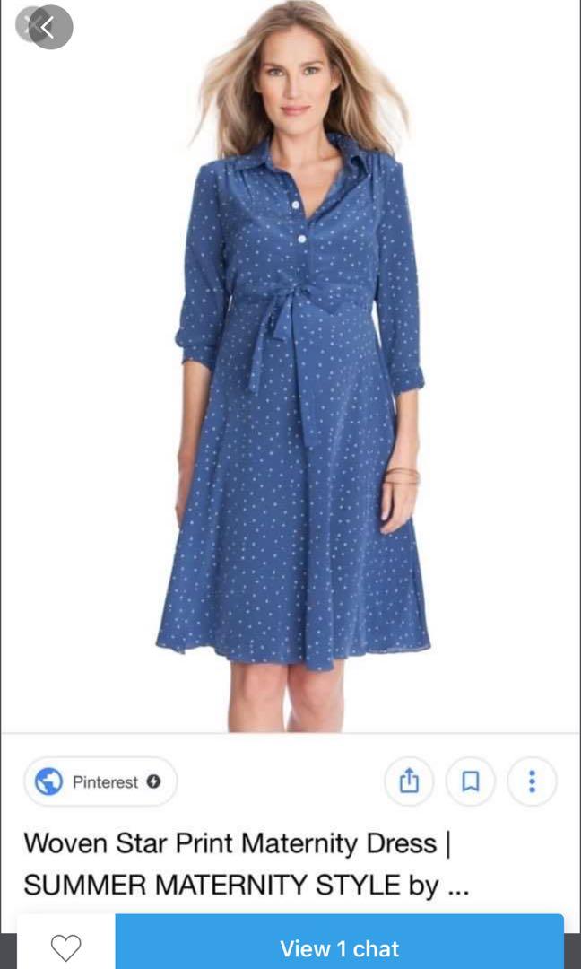 fb84b1b4fc7 Seraphine - maternity dress uk6