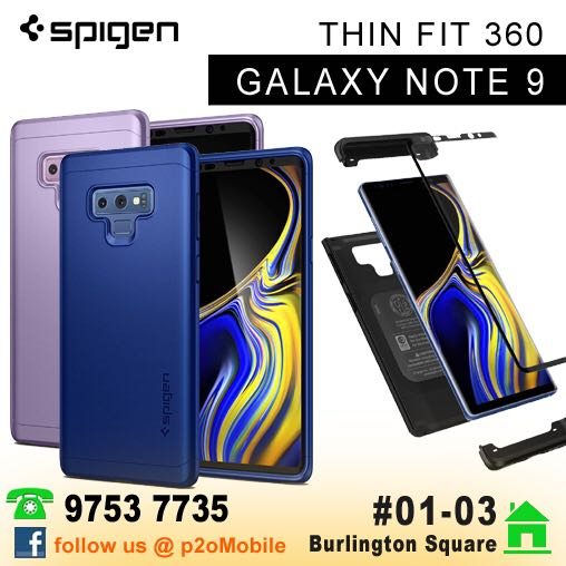 timeless design 3558a 1ab20 Spigen Thin Fit 360 for Samsung Galaxy Note 9