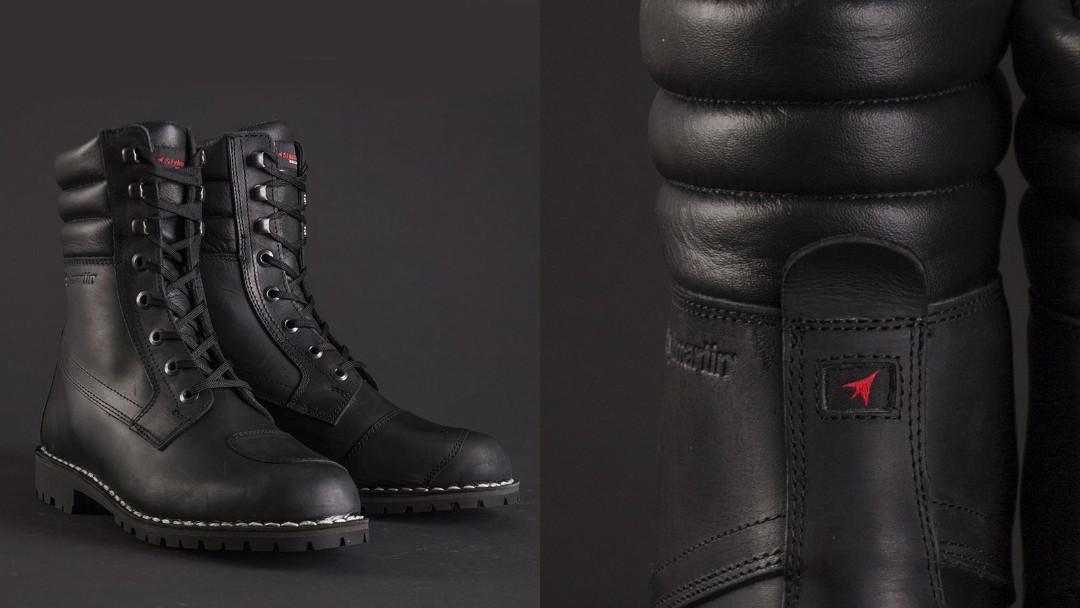 421e3e289068 Stylmartin Indian Black Urban Boots (SIZE EU 43)