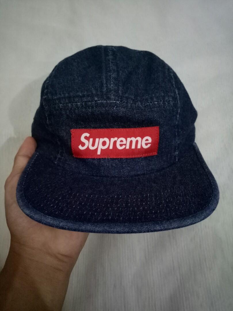 0bf7d2e0428 Supreme SS18 Denim Cap
